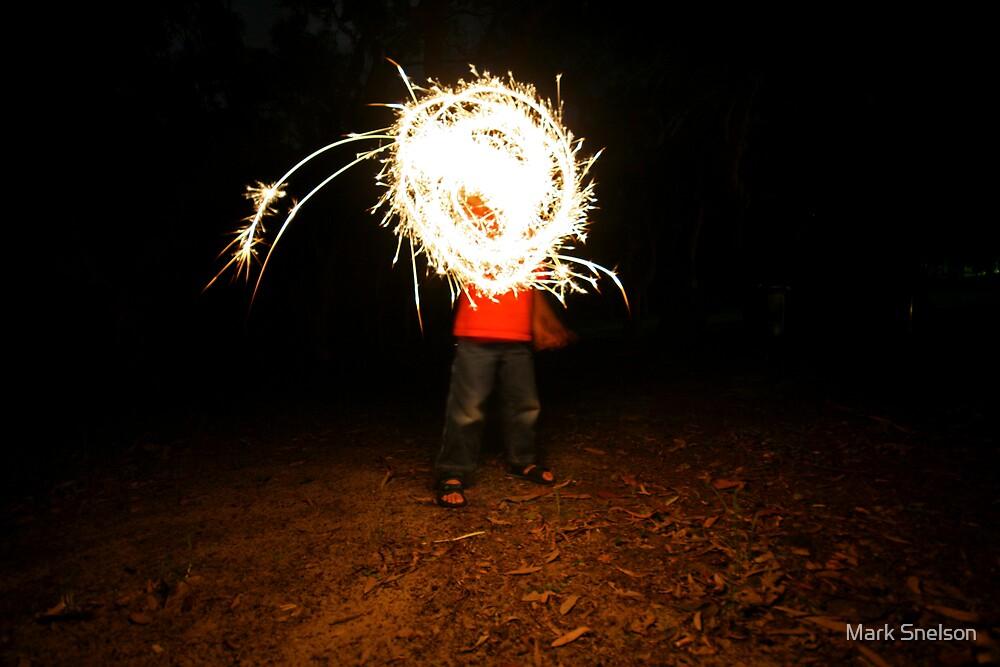 Sparkler Boy by Mark Snelson