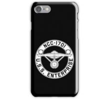 USS Enterprise Logo - Star Trek - NCC-1701 (TOS) iPhone Case/Skin