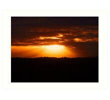 The Sunrise Series - Mornington Peninsula Art Print