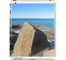 Rock at Whale Beach iPad Case/Skin