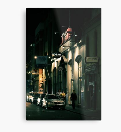 Melbourne with a touch of Europe Metal Print