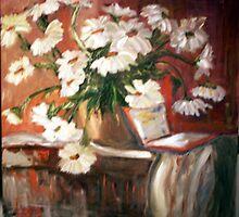Daisies by LornaA