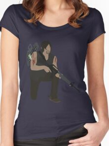 Daryl Dixon - The Walking Dead Women's Fitted Scoop T-Shirt