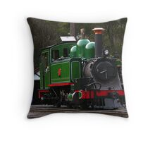 Down by the Station Throw Pillow