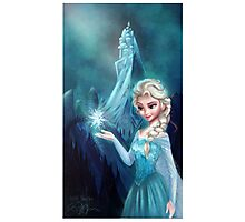 Elsa Frozen Photographic Print