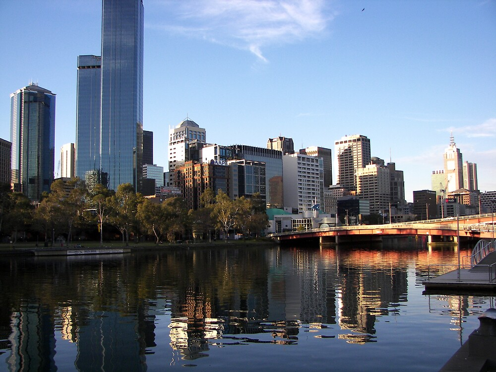 Melbourne by Lissy