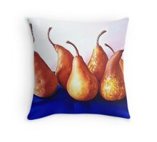 """""""Pears"""" Throw Pillow"""