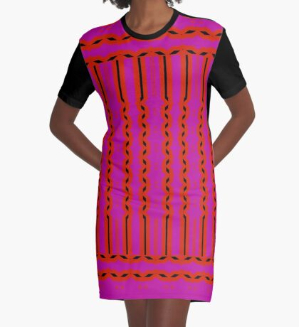 Waking Up In Summer Graphic T-Shirt Dress