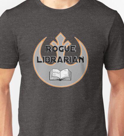Rogue Librarian Unisex T-Shirt