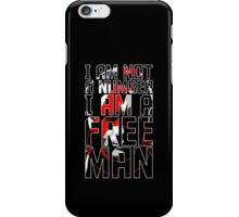 The Prisoner - Number Six - Be Seeing You - 6 - Patrick McGoohan iPhone Case/Skin