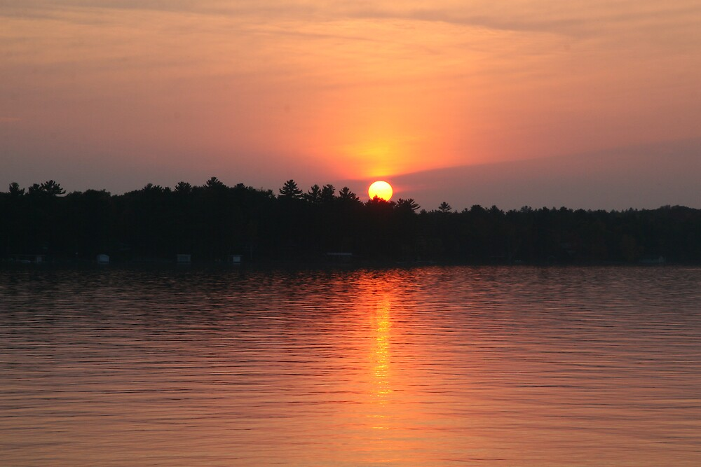 Muskoka Sunset 1 by John Clarke