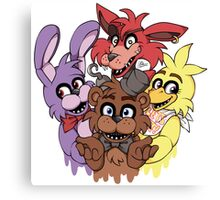Five Nights at Freddys! Canvas Print