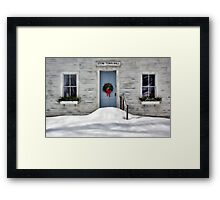 The Stow Town Hall 1842 - Stow,  Maine Framed Print