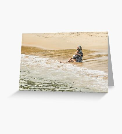 Coolling Off  Greeting Card