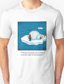 "Funny ""Spectickles"" Igloo Cartoon T-Shirt"