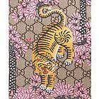 Gucci Tiger Pattern by bustynerds