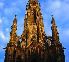 The Scott Monument - Edinburgh by Murray Newham