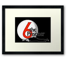 The Prisoner - Number Six - Be Seeing You - 6 Framed Print