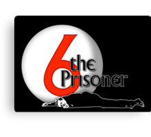 The Prisoner - Number Six - Be Seeing You - 6 Canvas Print
