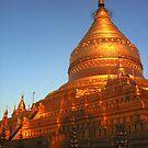 Shwezigon Pagoda, Burma by Murray Newham