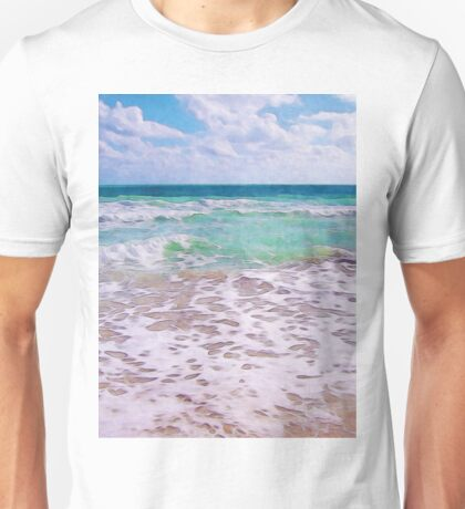 Atlantic Ocean On Florida Beach Unisex T-Shirt