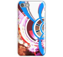 Augmented Urban Contemporary Modern Abstract Brown Blue Art iPhone Case/Skin