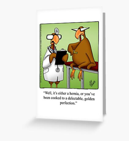 """Funny """"Spectickles"""" Thanksgiving Cartoon Greeting Card"""