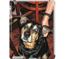 Cute Ham at the Bar iPad Case/Skin