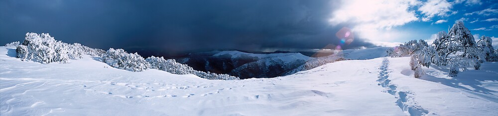 Sun, Snow, and Storm by John Barratt