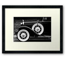 Vintage Car - Circa 1930s Framed Print