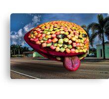 Cake Invader Canvas Print
