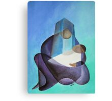 Mary and The Baby Messiah Canvas Print