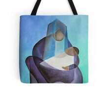 Mary and The Baby Messiah Tote Bag