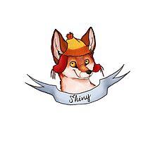 Fandom Foxes! - Shiny Photographic Print
