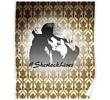 #SherlockLives Poster