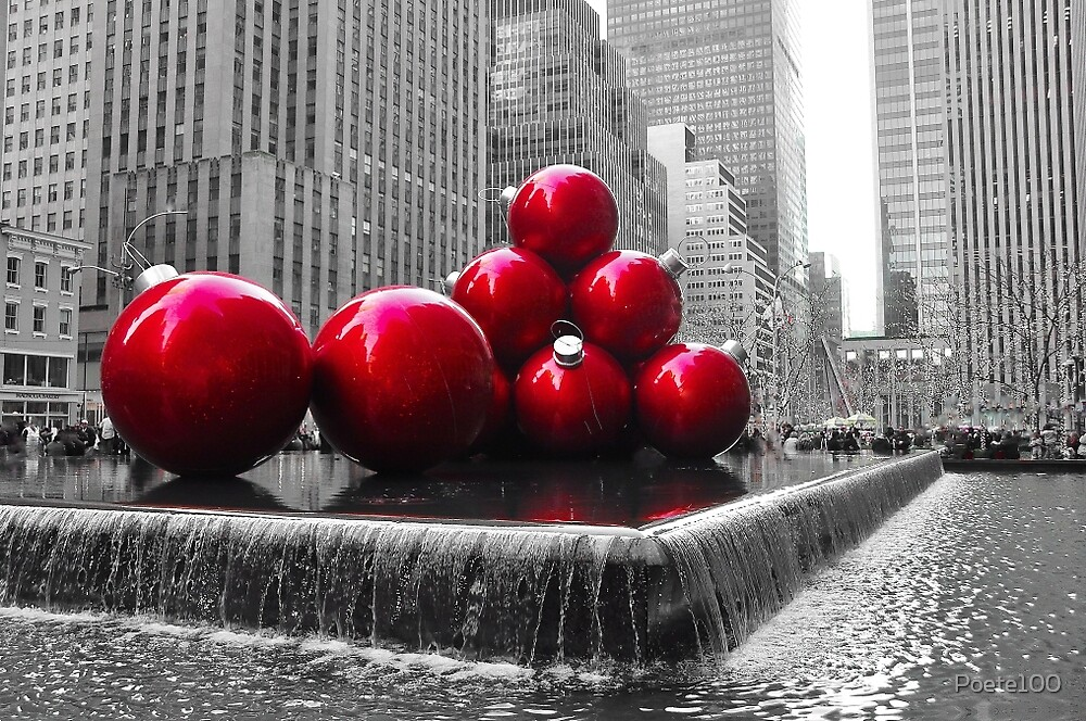 """Merry Christmas 2013 & Happy New Year 2014__New York City"" by Poete100"