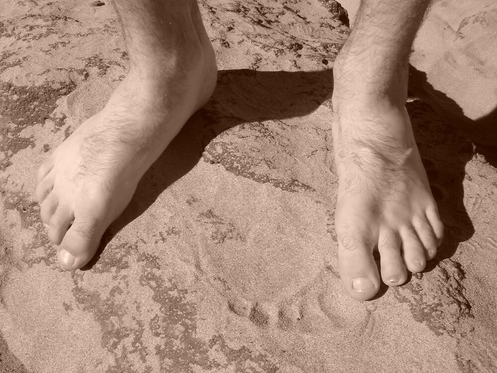 Sandy Feet by Alyce Moore