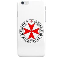 Knights Templar 12th Century Seal - Holy Grail - templars - crusades - V2 iPhone Case/Skin