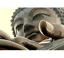 Big Buddha - Lantau Island Hong Kong Photographic Print
