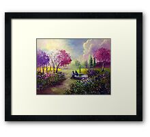 In Heaven Everything is Fine Framed Print