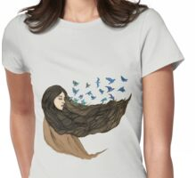 Sleep to dream Womens Fitted T-Shirt