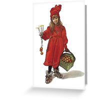 Iduna and the Magic Apples Greeting Card