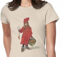 Iduna and the Magic Apples After Larrson Womens Fitted T-Shirt