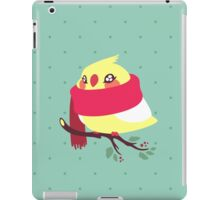 Winter Birb iPad Case/Skin