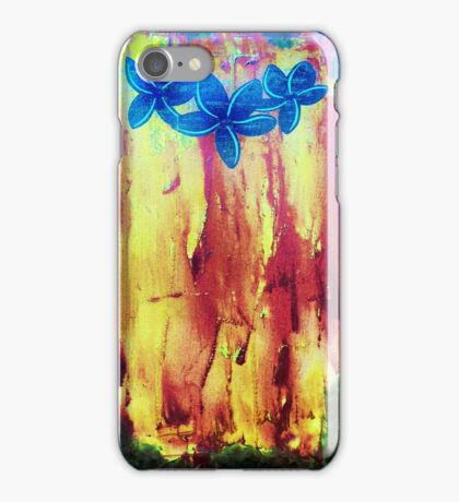 Frangipani Inferno II by Wayne Sotogi  iPhone Case/Skin