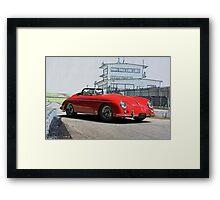 1956 Porsche Speedster  Framed Print