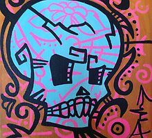 Sugar skull  by PhillipJohnson