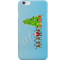 Happy Ho Ho Holidays!!! iPhone Case/Skin