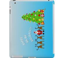 Happy Ho Ho Holidays!!! iPad Case/Skin