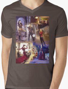 Once Upon A Time - main cast Mens V-Neck T-Shirt